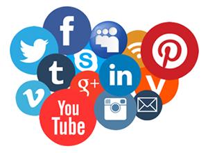 realizzazione siti web vicenza padova verona visibilita loghi social network